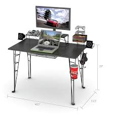 U Shaped Gaming Desk by Amazon Com Atlantic Gaming Desk Not Machine Specific Kitchen