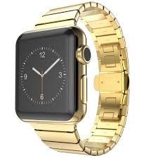 band gold aliexpress buy top quality link bracelet for apple