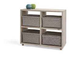 Bookcase With Baskets Seriously Nifty Shelves U0026 Storage Loaf