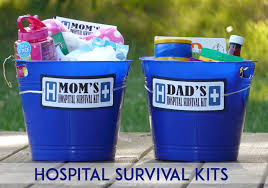 hospital gifts hospital survival kits gifts for new and dads so festive