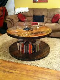 How To Make End Tables Wooden by Table Top Ideas For Wooden Spool Tables Google Search Home