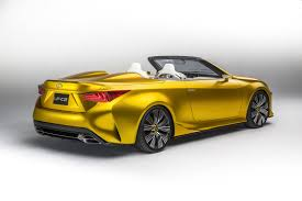 lexus convertible 2004 lexus lf c2 concept blows its top off in la previews rc convertible