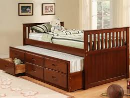 Full Size Trundle Bed With Storage Bed Frame Twin Bed Trundle Frame Pop Up Trundle Bed Frames Twin