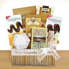 sympathy basket healing sympathy basket chocolate gift baskets
