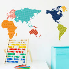 World Map Wall Decal Popular Wall Travel Map Buy Cheap Wall Travel Map Lots From China