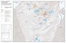 negev desert map fsbrg the conflict shoreline