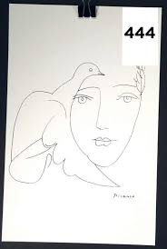 face with dove artist picasso