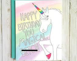 birthday card for friend card etsy