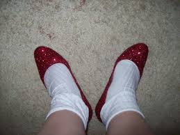 How To Decorate Shoes Ruby Slippers How To Decorate A Pair Of Glitter Shoes