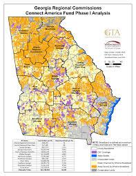 Atlanta County Map Map Gallery Georgia Broadband