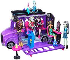 amazon monster deluxe bus u0026 spa playset toys u0026 games