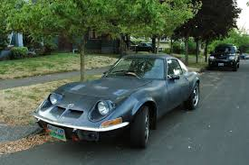opel old old parked cars 1972 opel gt