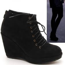 s boots wedge s chic high wedge heels boots