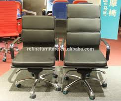 Modern Office Chair Without Wheels White Leather Modern Swivel Executive Office Chair Without Wheels