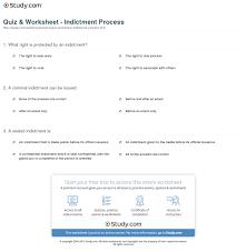 quiz u0026 worksheet indictment process study com