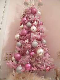tree mini pink tree white lights