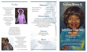 funeral program printing services funeral program printing services williams docuprep williams
