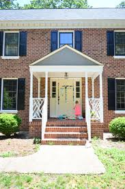 how to pick a color and paint your front door young house love