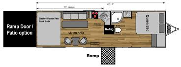Toy Hauler Floor Plans Wheelchair Accessible Toyhauler