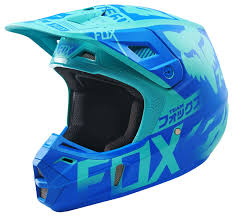 motocross racing helmets fox racing v2 union le helmet revzilla