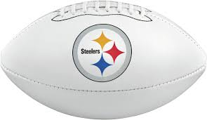 wilson pittsburgh steelers autograph official size football