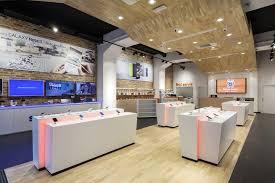 store interior design smartphone concept store by brigada retail design blog digital