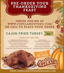 pre order your thanksgiving feast today