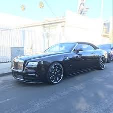 murdered rolls royce wraith rdb la five star tires full auto center complete collision