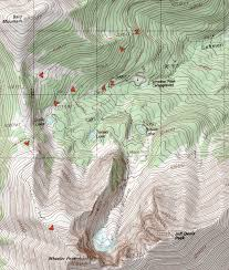 New Mexico Topographic Map by Wheeler Peak Climbing Hiking U0026 Mountaineering Summitpost
