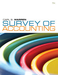 survey of accounting 5e carl warren authorstream