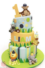 zoo themed birthday cake topsy turvy animal kingdom cake celebration cakes