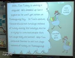 thanksgiving writing with a persuasive pigeon around the