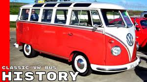 volkswagen van hippie classic vw bus history explained youtube