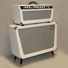 Custom Head Cabinet Tone King Galaxy White Amp And Cabinet Guitar Gears