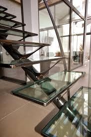 escalier design bois metal escalier moderne métal et verre au puy en velay escalier