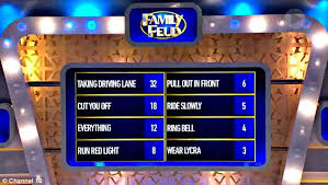 family feud for offensive question