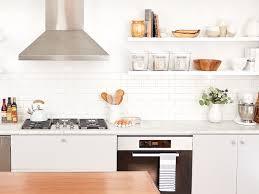 remove kitchen cabinet doors for open shelving 10 beautiful open kitchen shelving ideas