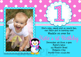 Invitation Card Application 1st Birthday Invitations Free Template Baby U0027s 1st