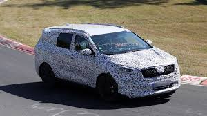 suv kia 2013 2015 kia borrego prototype spied in action on nurburgring video