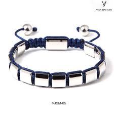 metal bead bracelet images Square bead string knot bracelet patterns jpg