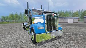 w900l kenworth w900l 2004 day cab for farming simulator 2015