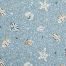 sea shells curtain fabric marine free uk delivery terrys fabrics