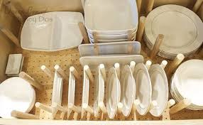 Cabinet Organizers For Dishes How To Dish Drawer Organizer Hometalk