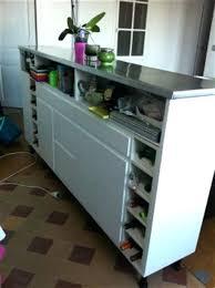ikea bar de cuisine s paration de cuisine avec kallax bidouilles ikea bar separation