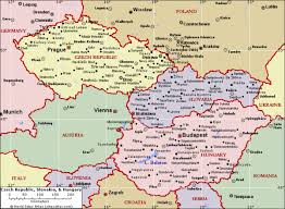 map of countries surrounding germany map of germany and surrounding countries with cities travel maps