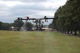 ncda u0026cs licenses first drone for pesticide application