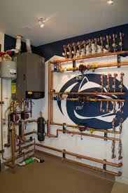 Home Plumbing System Mechanical Hub American Plumbing Heating And Solar Custom Home