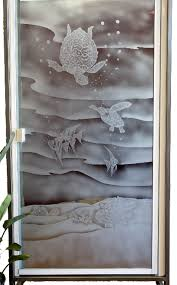 Sea Shower Doors Everyone Sea Turtles This Shower Door Is Shade Etched With