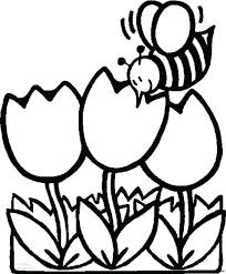free spring coloring pages toddlers happy kids sheets print