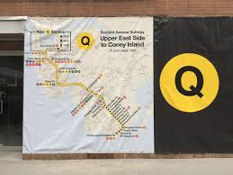 Second Avenue Subway Map by A Guide To The Second Avenue Subway Underground And On The Street